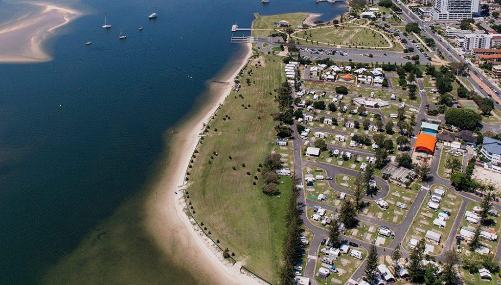 Aerial photo of Parklands