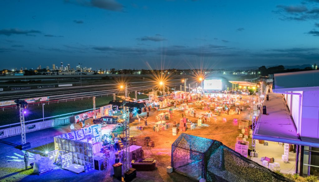 Hot Havana Nights outside the Gold Coast Event Centre
