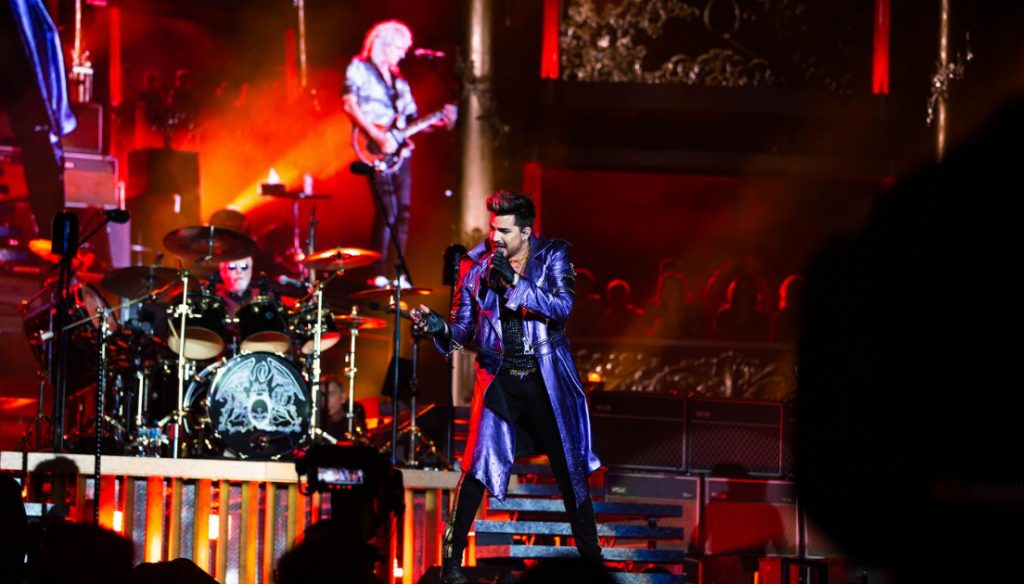 2020 Queen concert at Metricon Stadium