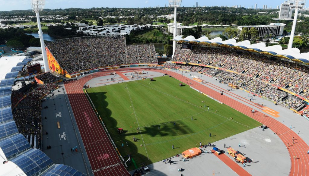 2018 Commonwealth Games at Metricon Stadium