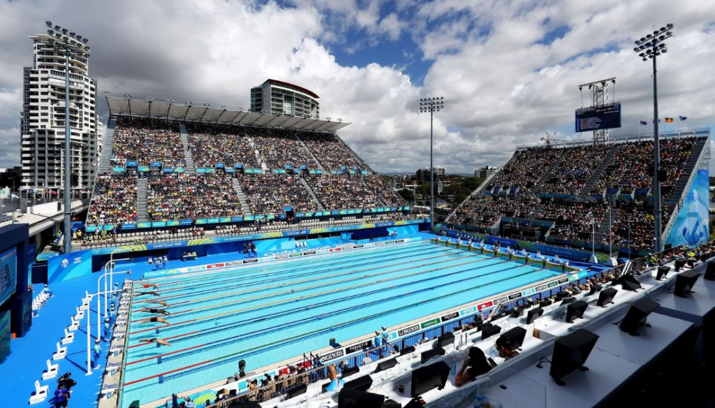 2018 Commonwealth Games at the Gold Coast Aquatic Centre
