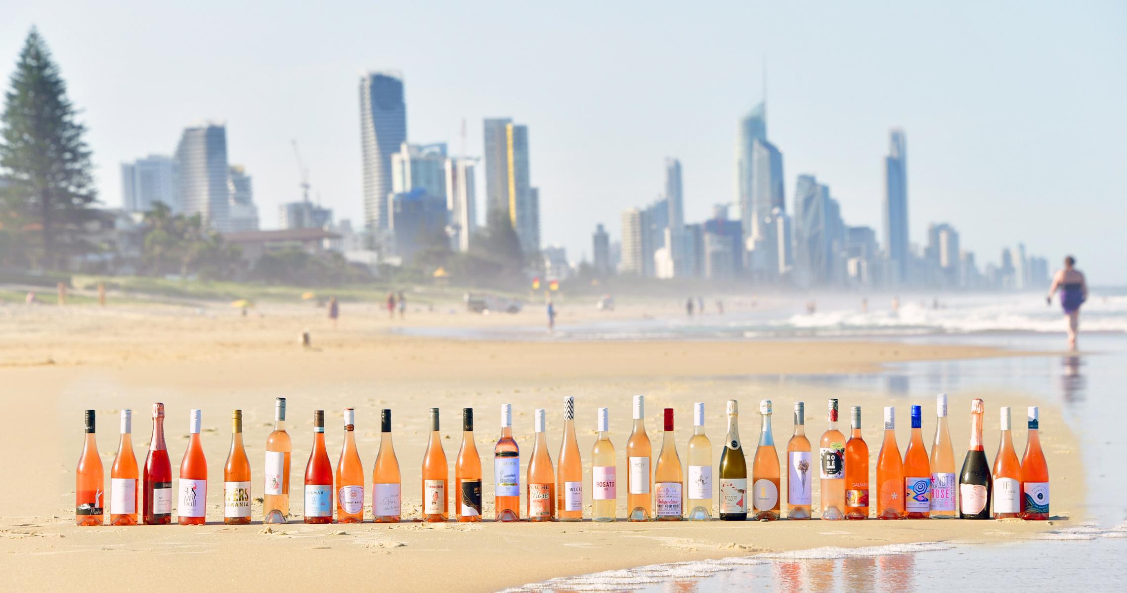 Gold Coast beach will turn pink at new Rosé Coast festival