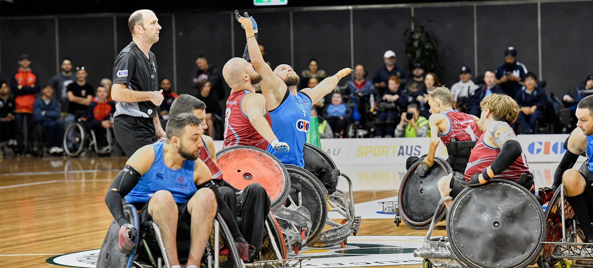 2021 GIO Wheelchair Rugby National Championship