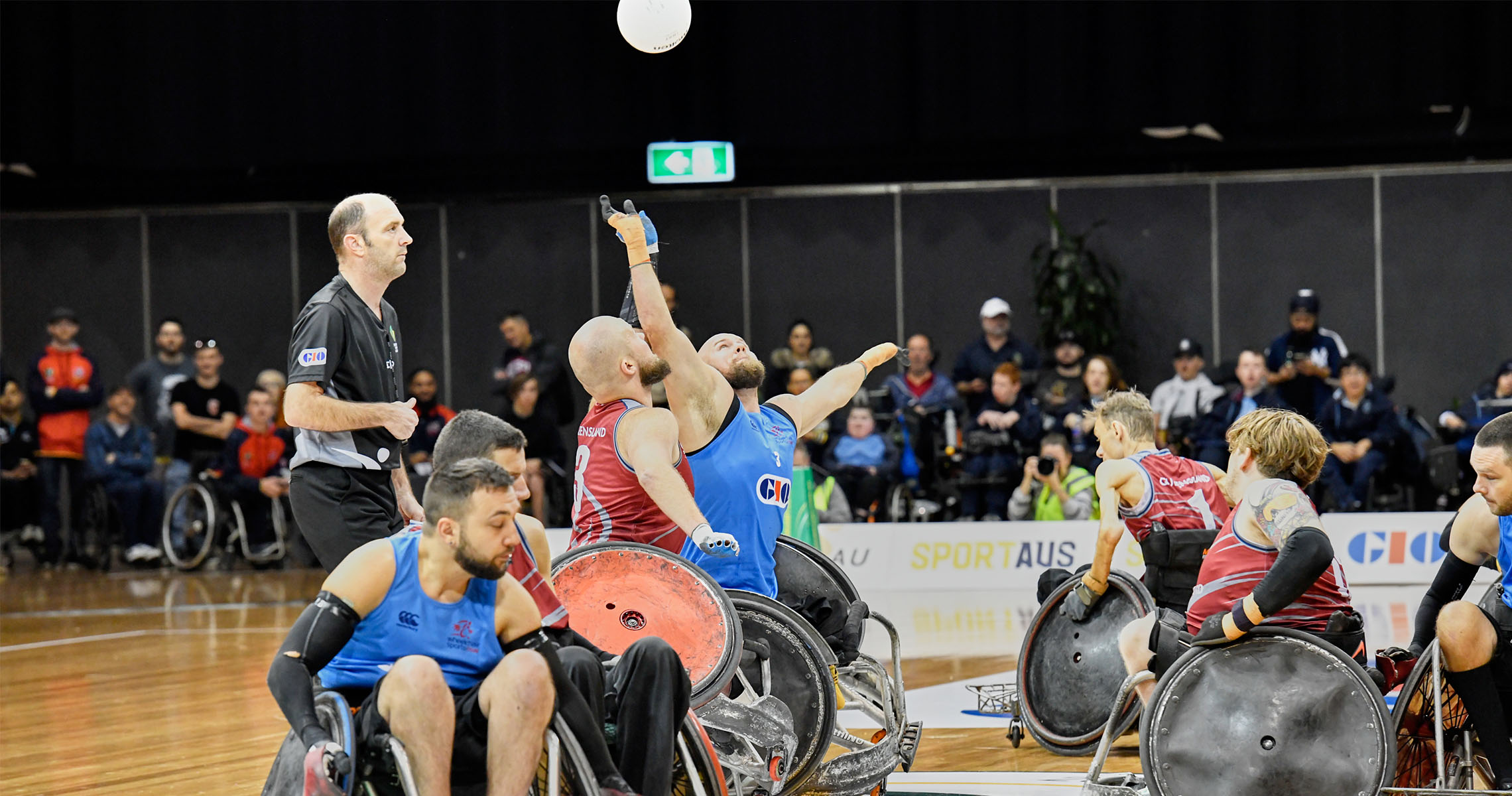 Gold Coast secures Wheelchair Rugby National Championship for the first time