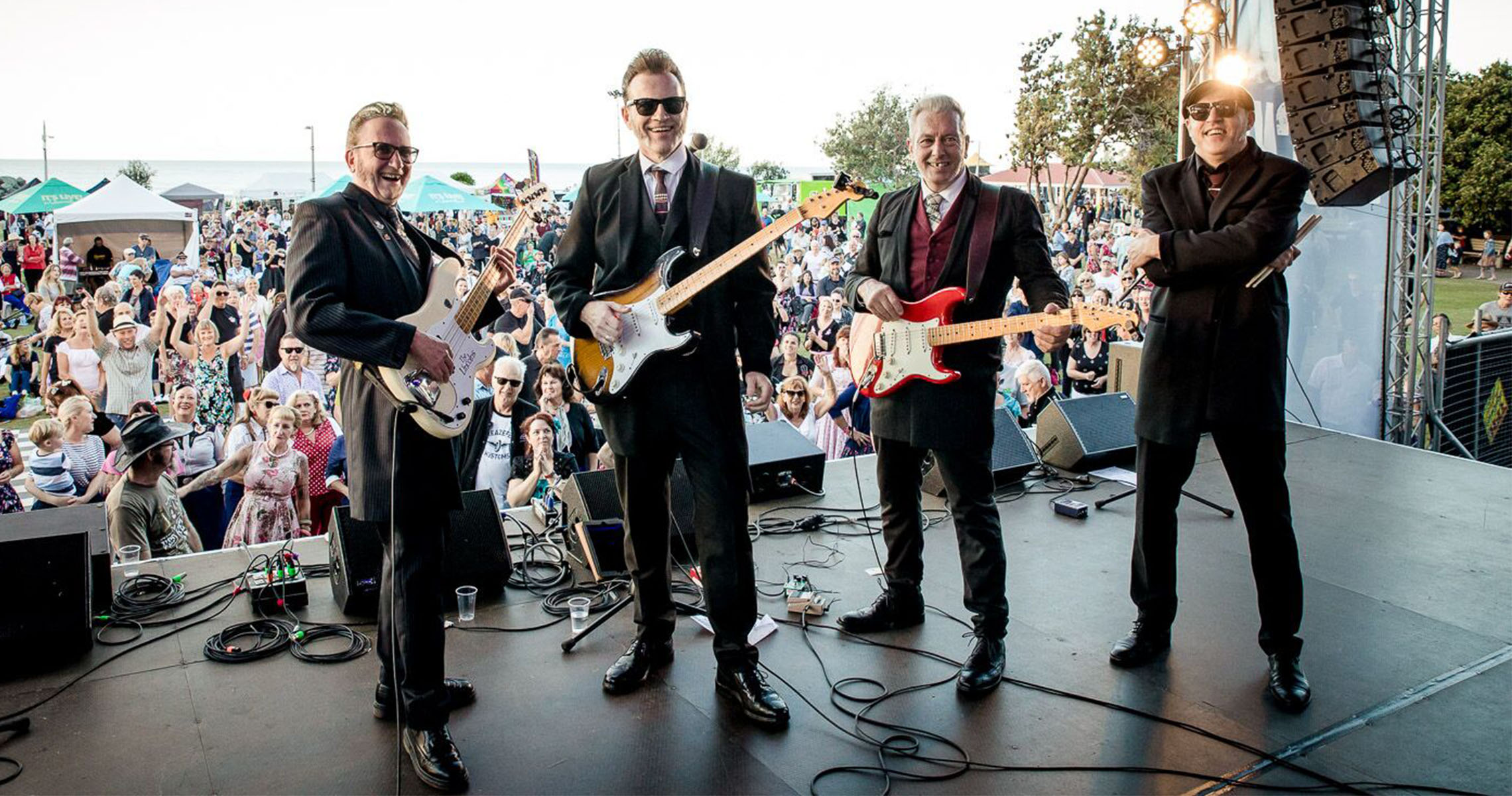 Australia's largest rock 'n' roll and nostalgia festival, Cooly Rocks On, announces rockin' line up