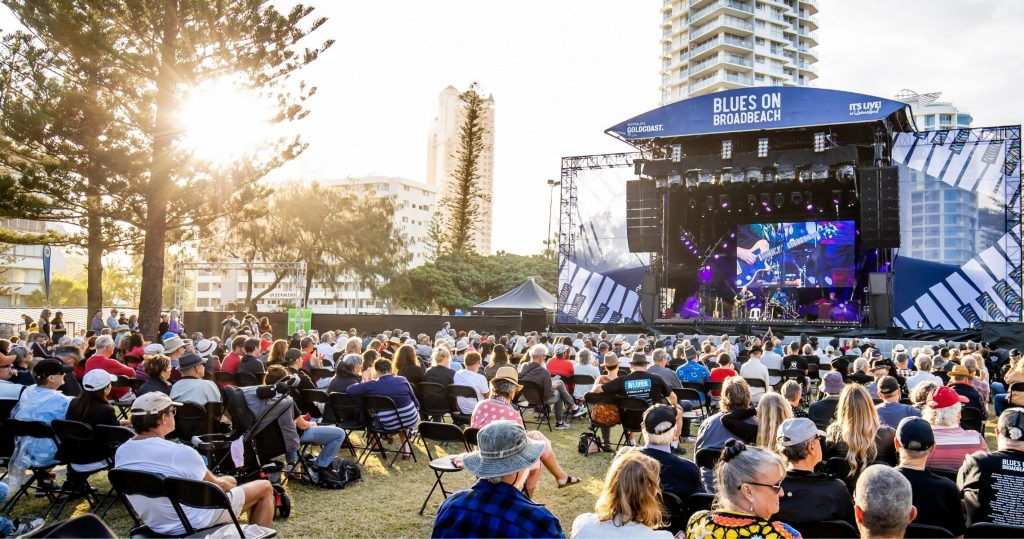 BEHIND THE SCENE WITH BLUES ON BROADBEACH FESTIVAL DIRECTOR