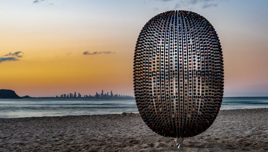 SWELL Sculpture Festival Jaco Roeloffs Superegg | Image by PBR Images